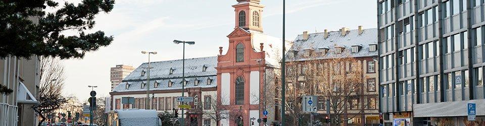 Die Deutschordenskirche in Frankfurt